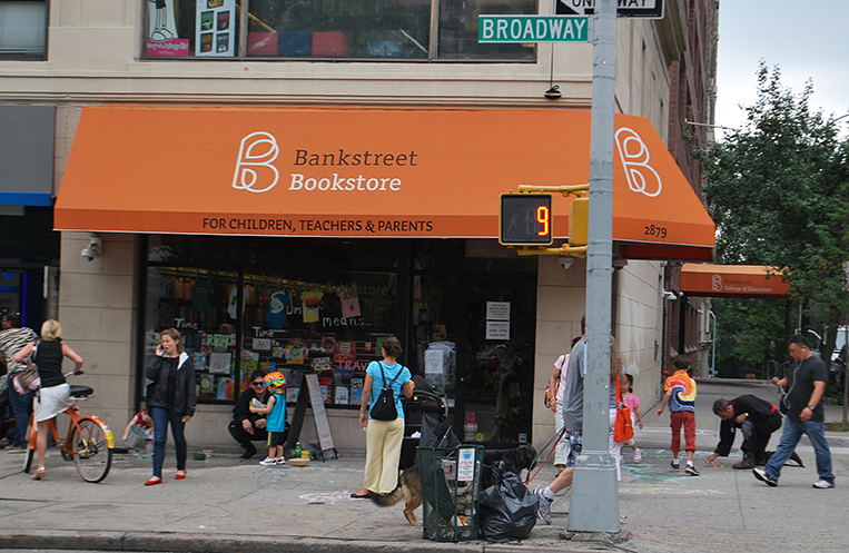 Bank Street Bookstore will say goodbye to its current location at 112th and Broadway in March 2014. The new location is at 107th and Broadway.
