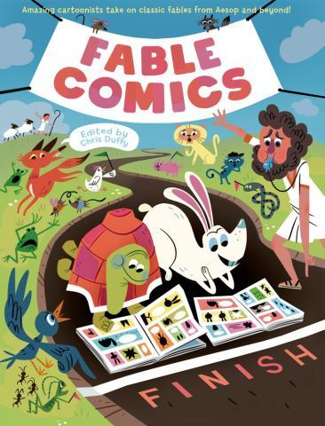 Fable Comics jacket